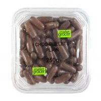Chocolate Bullets Plain (250G TUB)