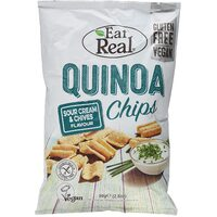 Eat Real Lentil Chips Sour Cream & Chives (113grm)