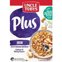 Breakfast Cereal  Uncle Toby Plus Iron (410 gm Packet)