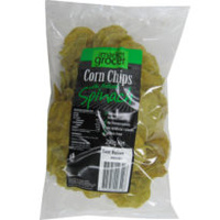 Corn Chips Spinach (200gm)