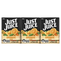 Just Juice Orange Fruit Drink 6 pack