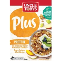 Breakfast Cereal  Uncle Toby Plus Protein (410 gm Packet)