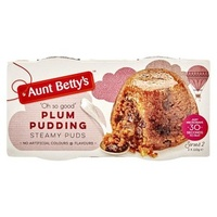 Aunt Betty's Plum Pudding(2X95 GRM TUB)